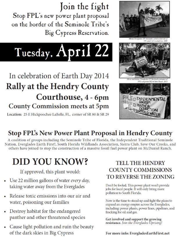 FPL rally April 22nd 2014