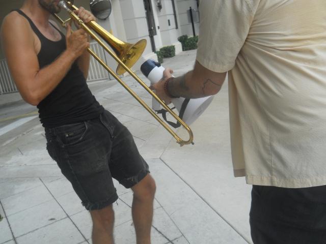trombone amplify
