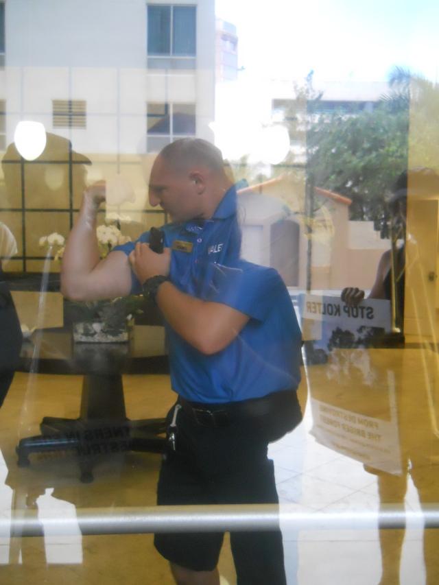 wannabe cops flexing their power